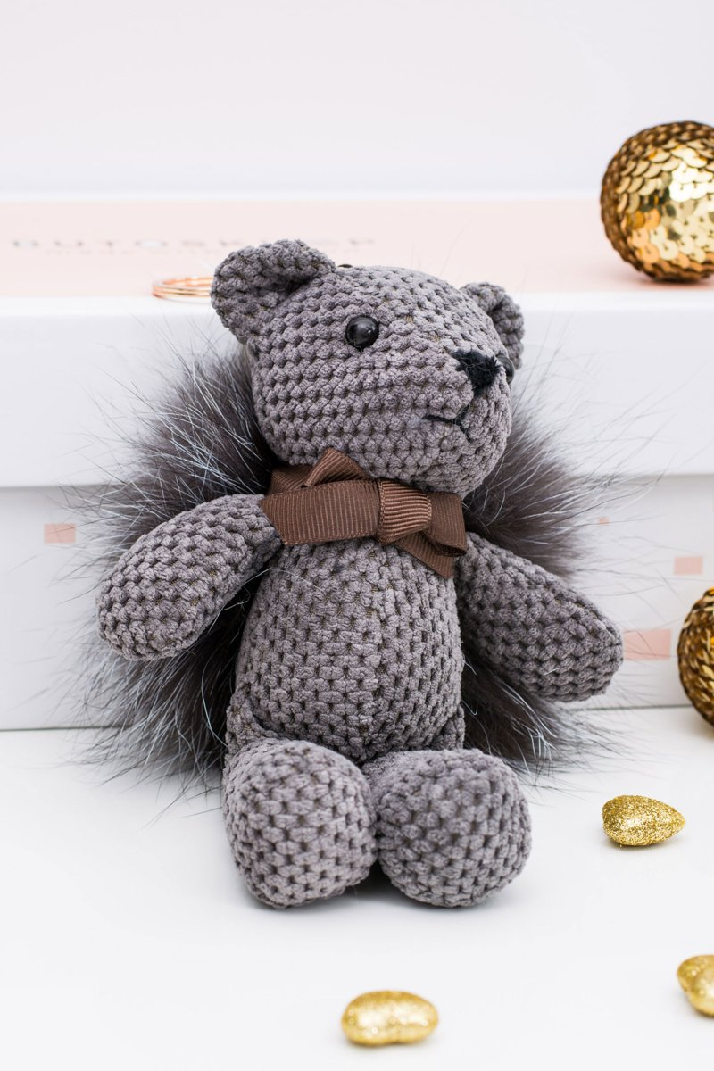 Big Teddy Bear Grzesiu Pendant Keyring to the Bag