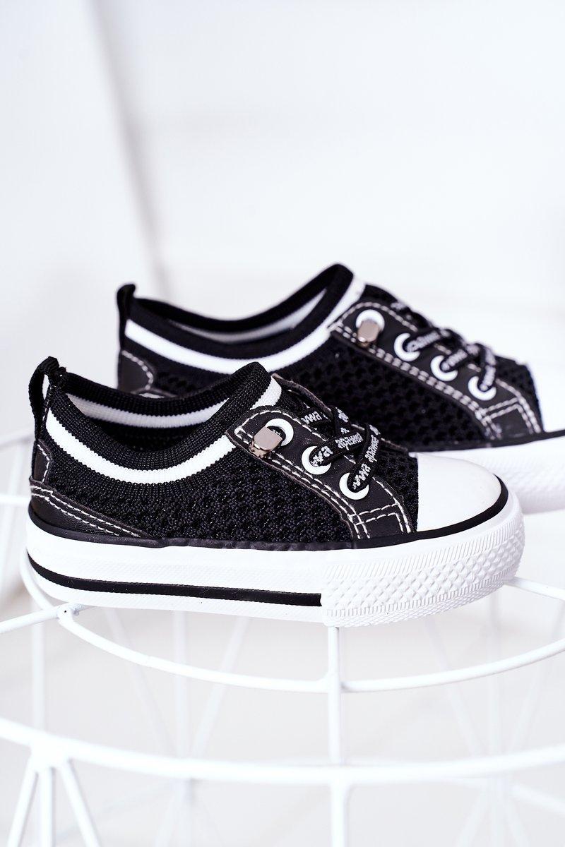 Children's Airy Sneakers Black Kids Club