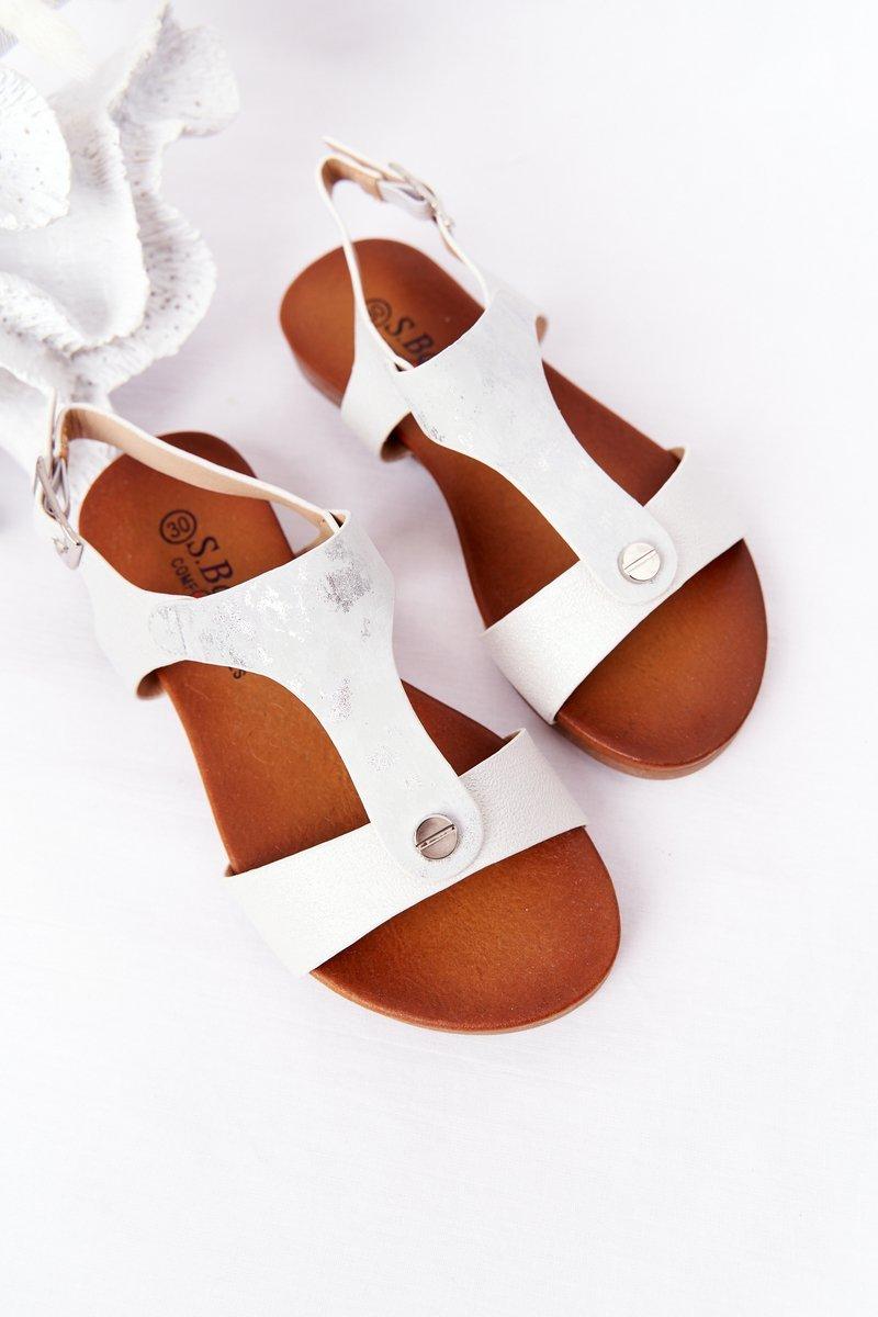 Children's Sandals S.Barski Comfort Silver