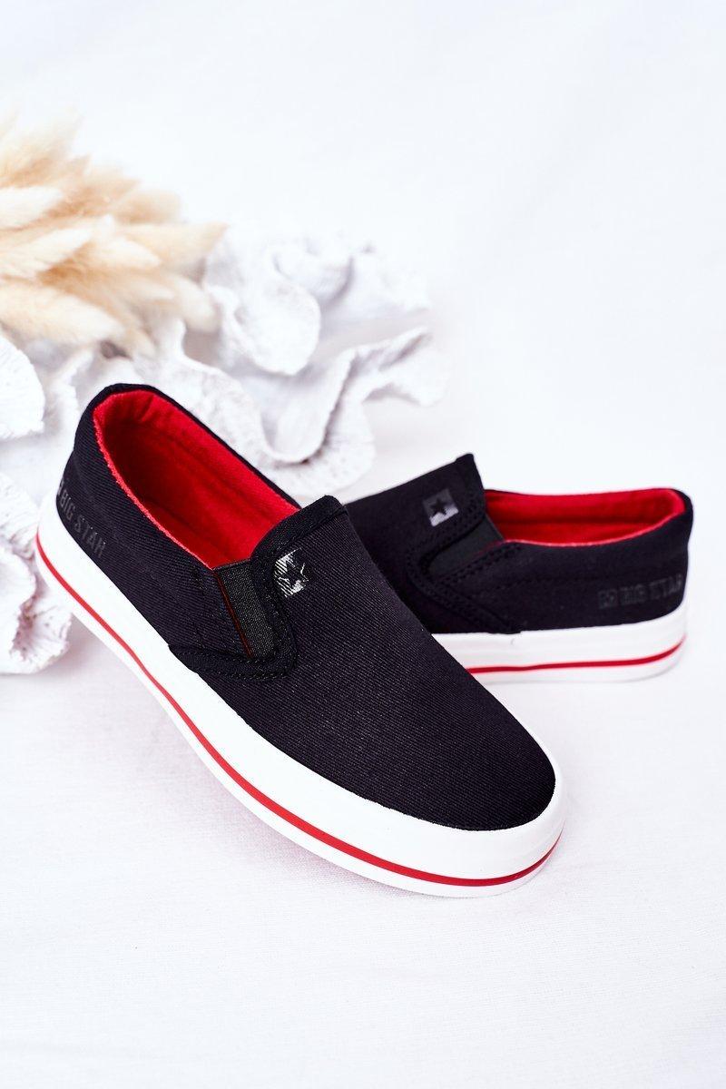 Children's Slip-On Sneakers Big Star HH374013 Black