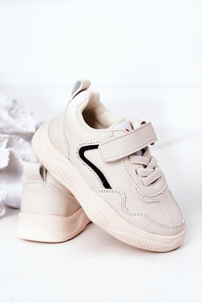 Children's Sport Shoes Sneakers Beige Runner