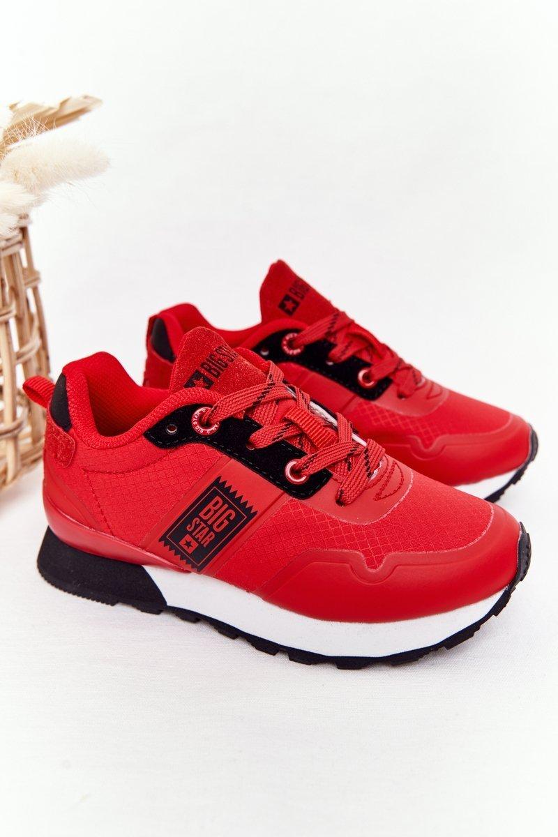 Children's Sports Shoes Memory Foam Big Star HH374173 Red