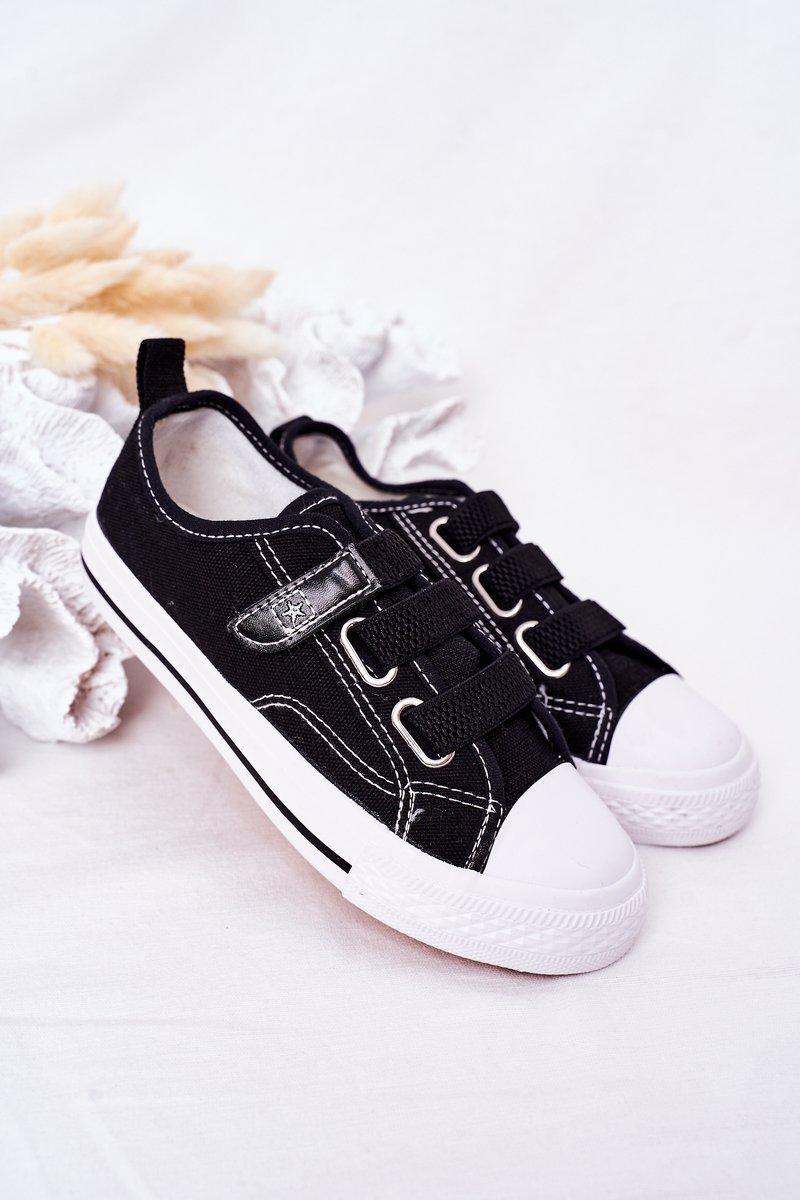 Children's Velcro Sneakers Black Avengers