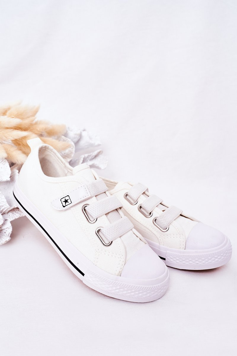 Children's Velcro Sneakers White Avengers