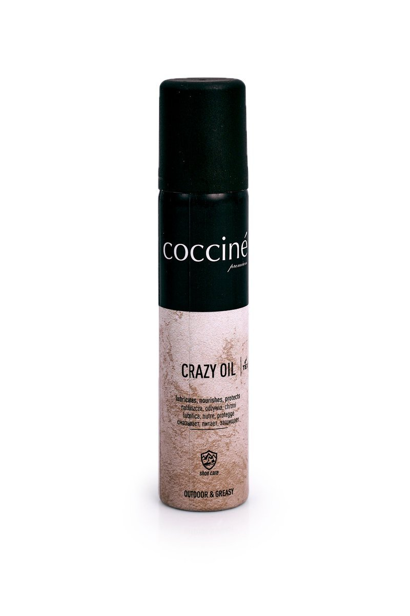 Coccine Crazy Oil for Shoe Care from Suede and Nubuck