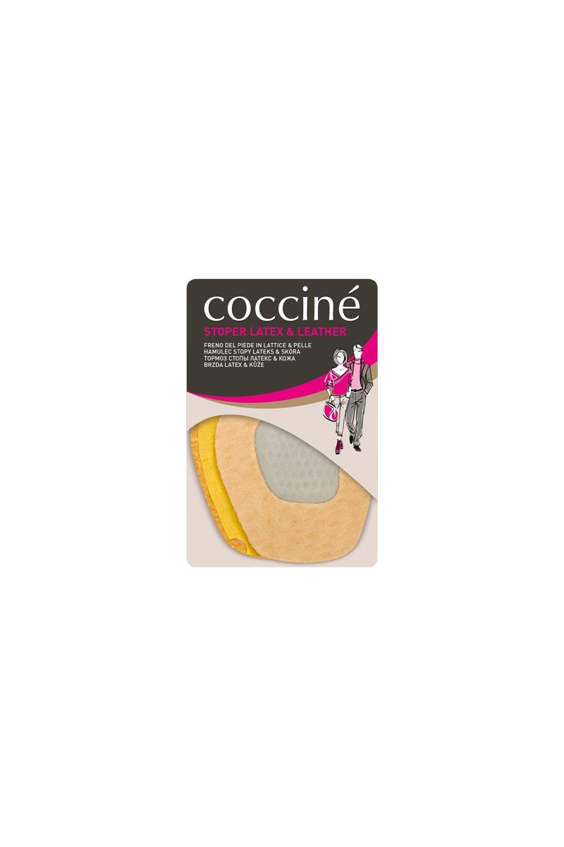 Coccine Leather Brake Foot Heel Stopper
