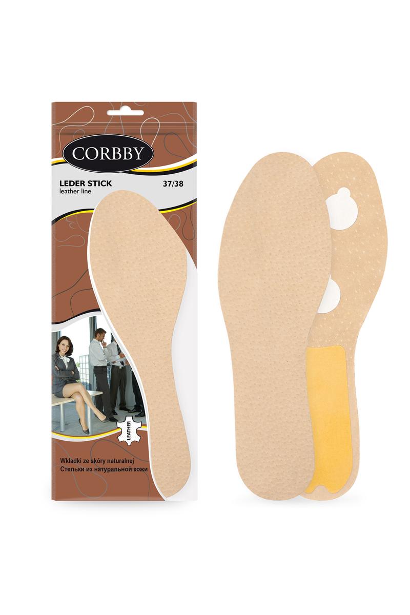 Corbby LEDER STICK Skórzane wkładki, wklejki do butów
