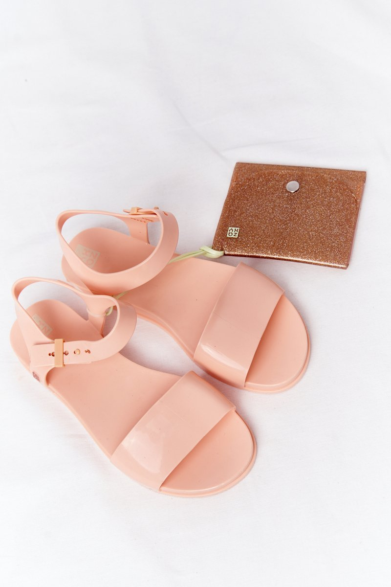 Fragrant Rubber Sandals Eco Friendly ZAXY HH285123 Nude