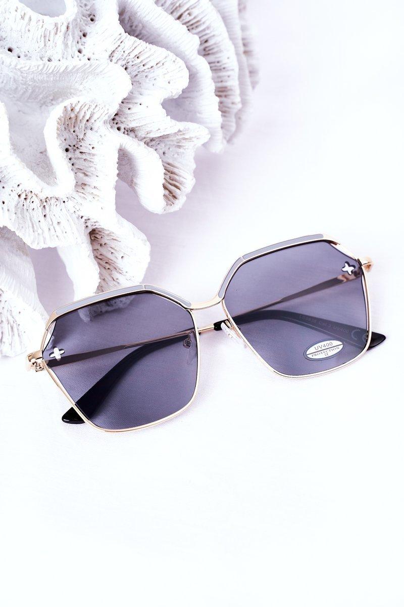 Geometric Sunglasses Grey