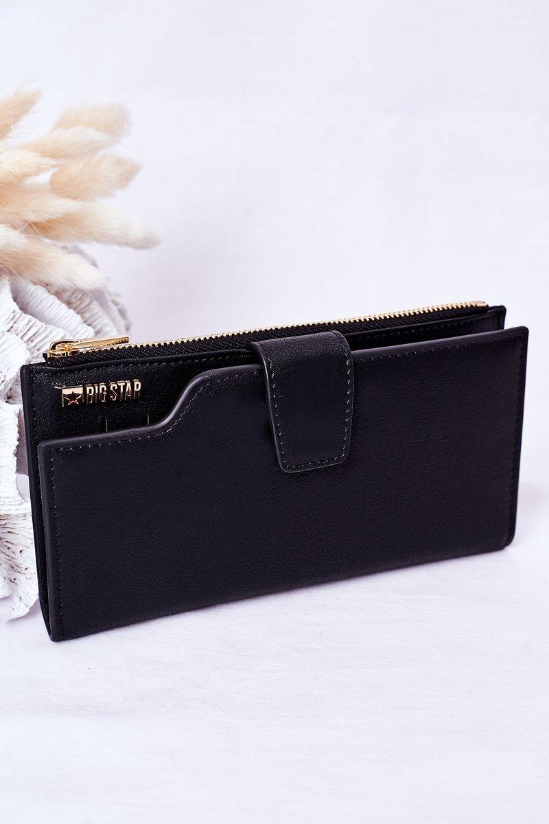 Leather Wallet Big Star HH674009 Black