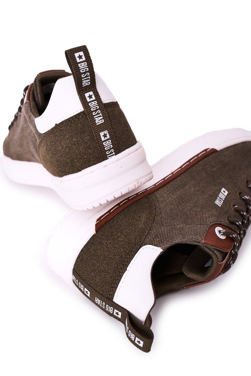 Men's Sneakers Big Star HH174160 Khaki