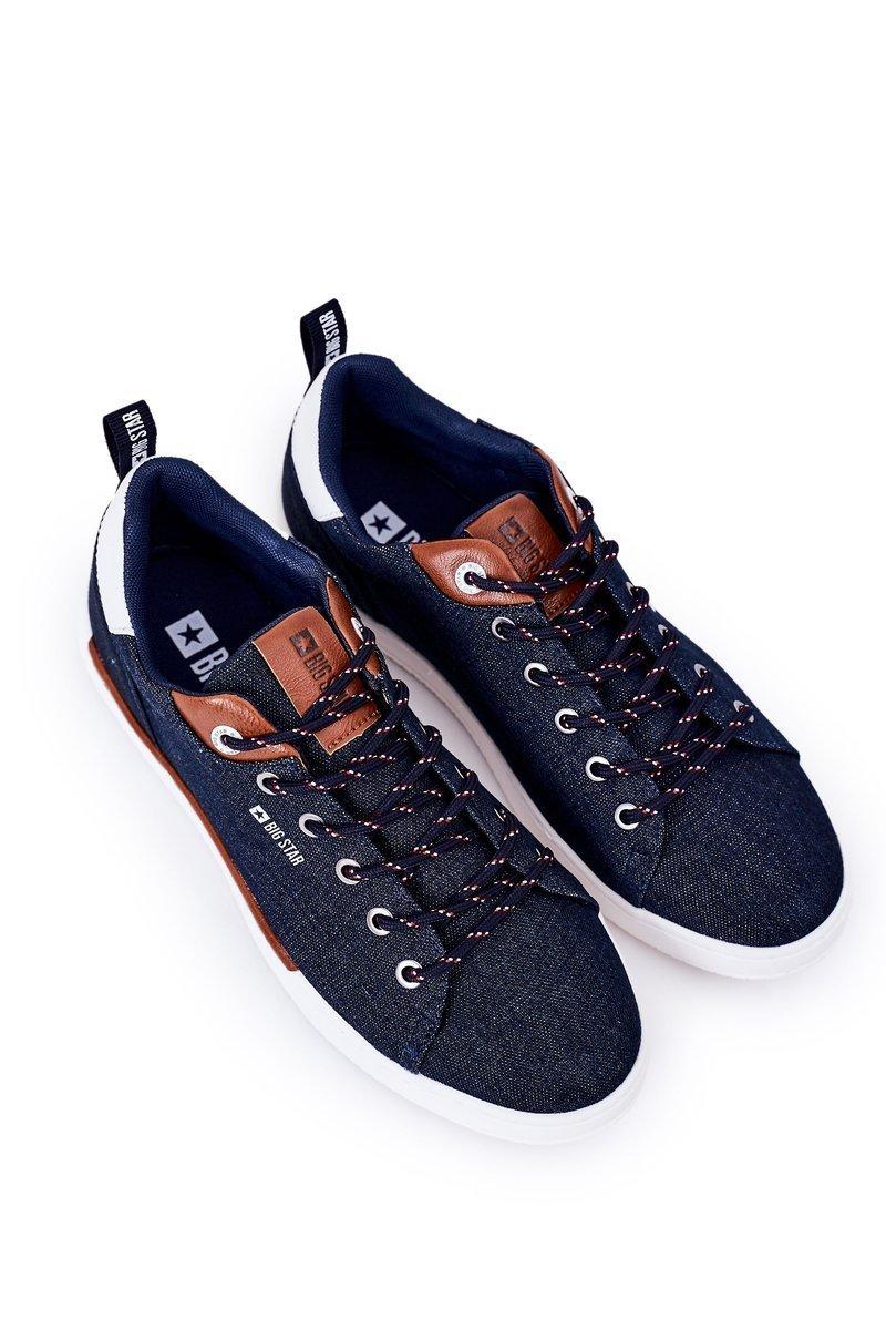 Men's Sneakers Big Star HH174163 Navy Blue