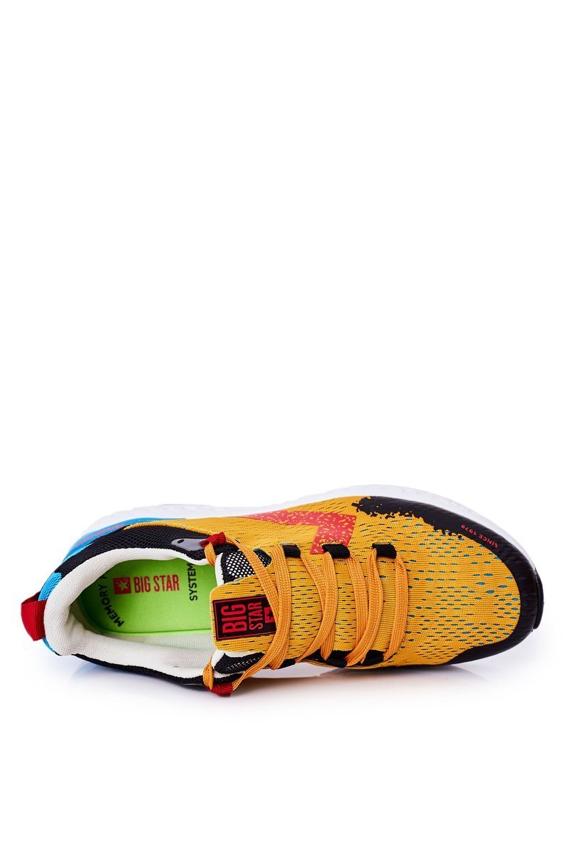 Men's Sport Shoes Memory Foam Big Star HH174237 Orange