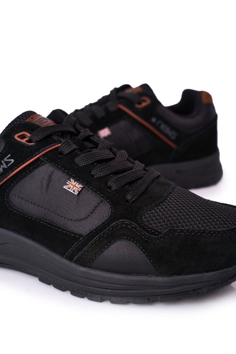 Men's Sports Shoes Sneakers Black Fabian