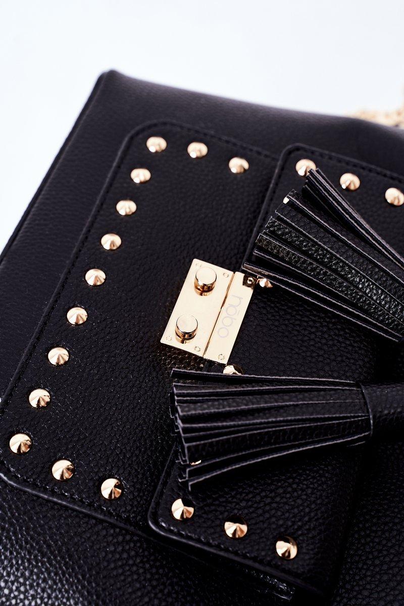 Messenger Bag On A Chain NOBO K4090 Black