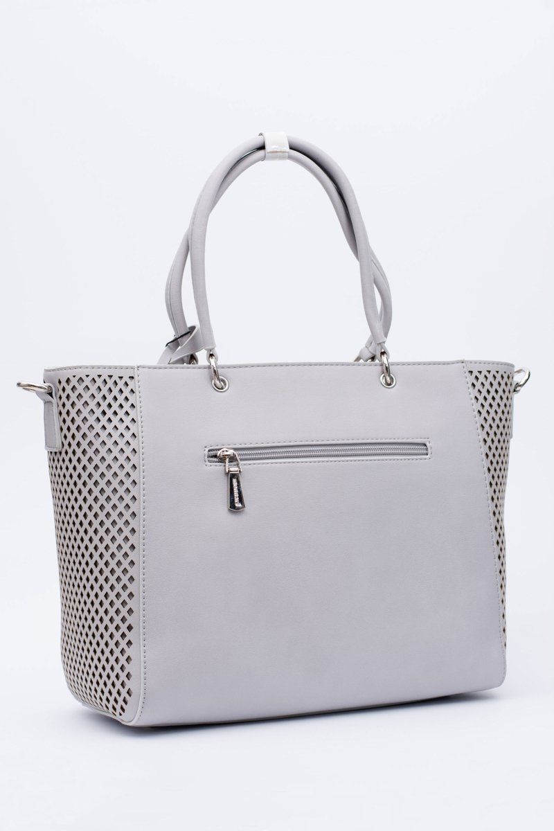 Monnari Bag Classic Shopper Grey