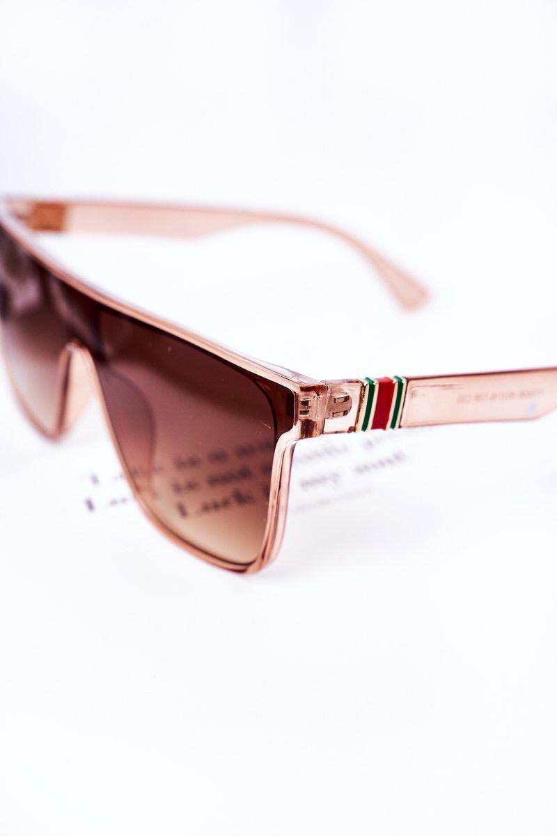 Shield Sunglasses VINCENT Brown Ombre