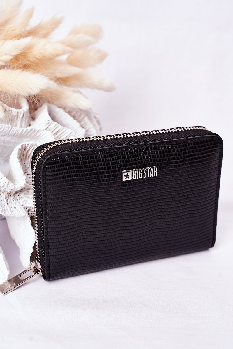 Small Wallet Big Star HH674007 Black