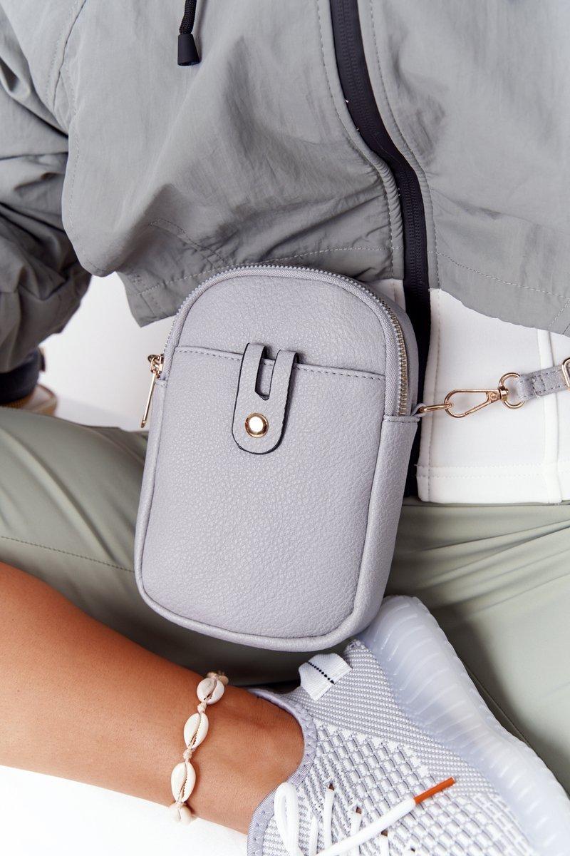 Small Women's Waist Sachet Cross Bag Amsterdam Grey
