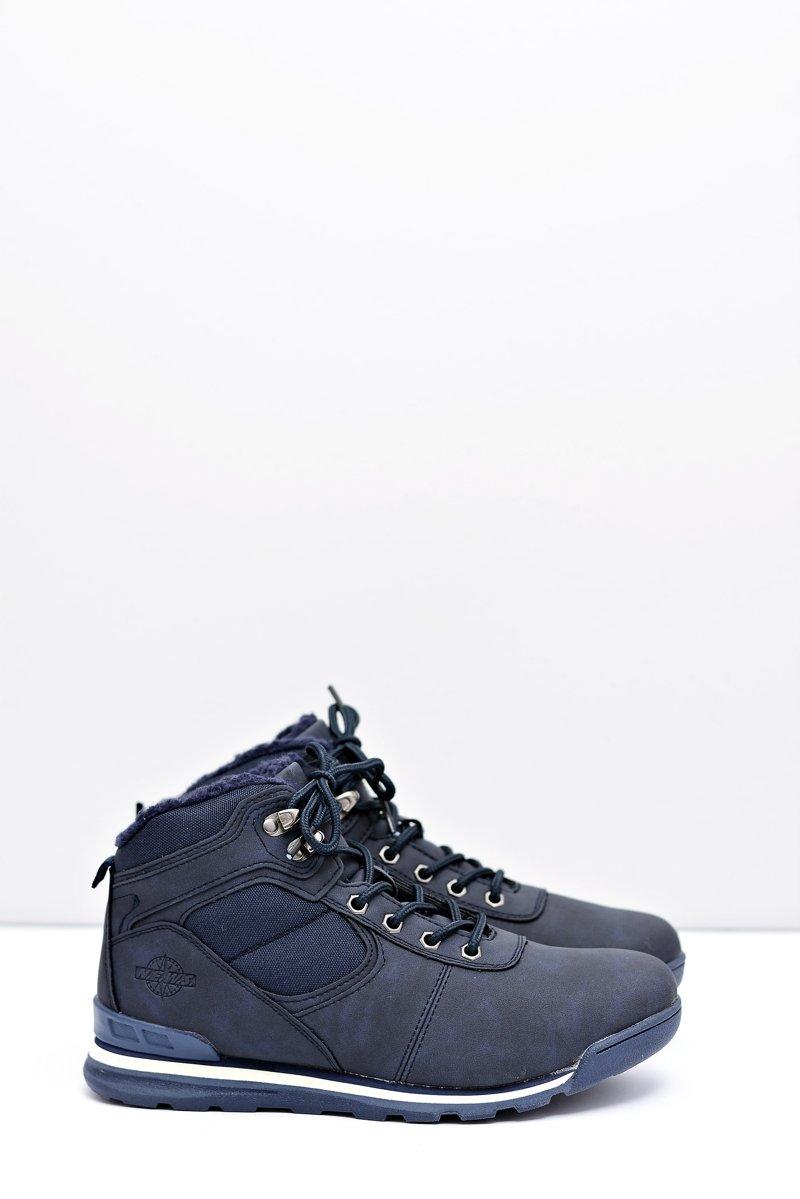 Trekking Women's Navy Blue Insulated Boots Sheep