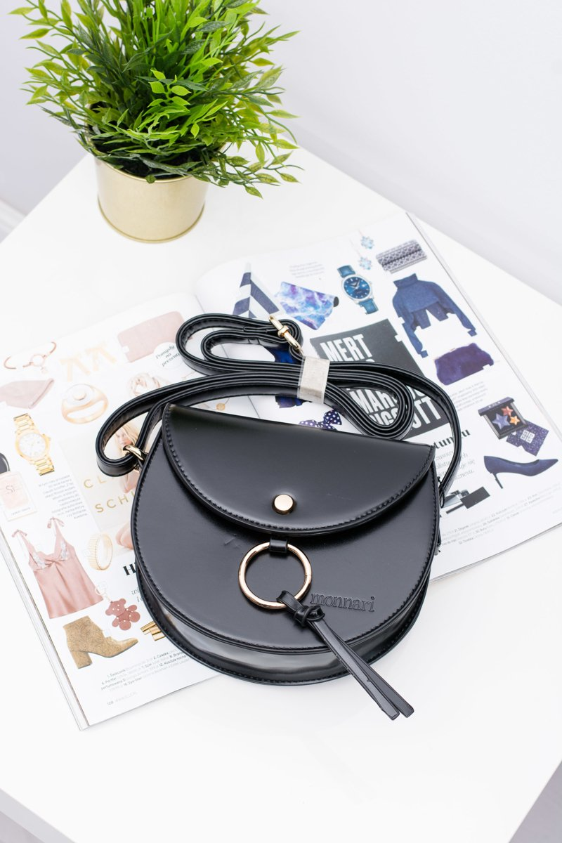 Women Black Stylish Bag