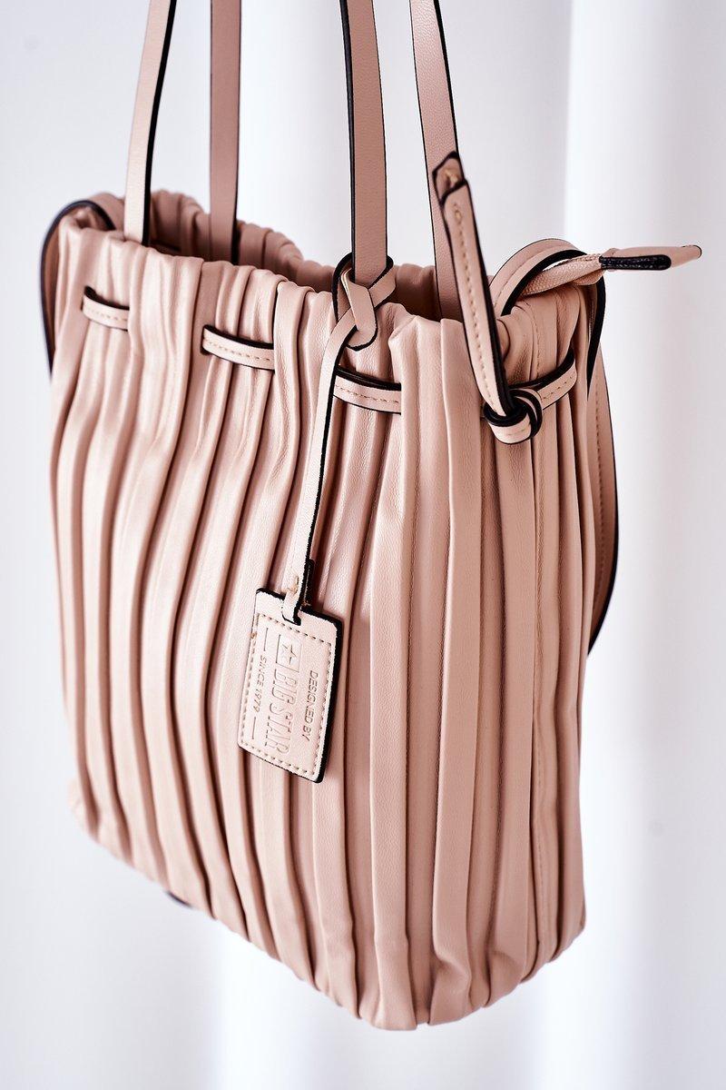 Women's Handbag Big Star HH574258 Nude