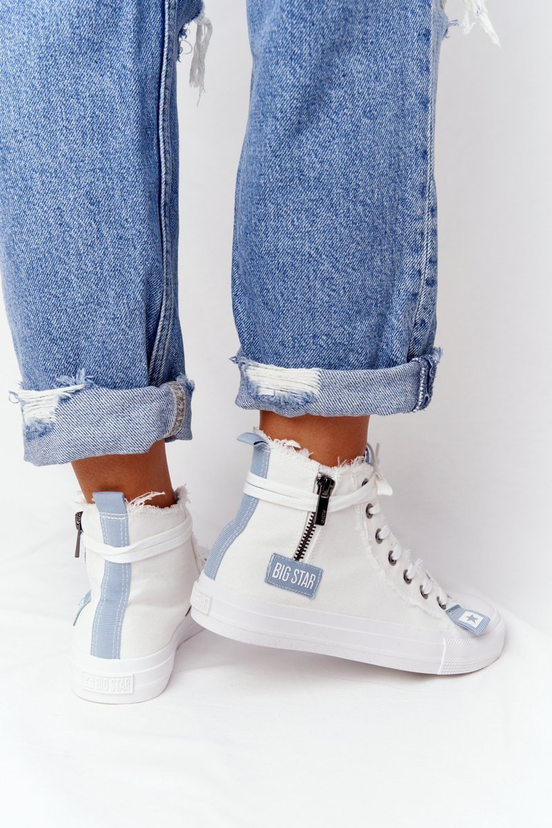Women's High Sneakers Big Star  HH274160 White