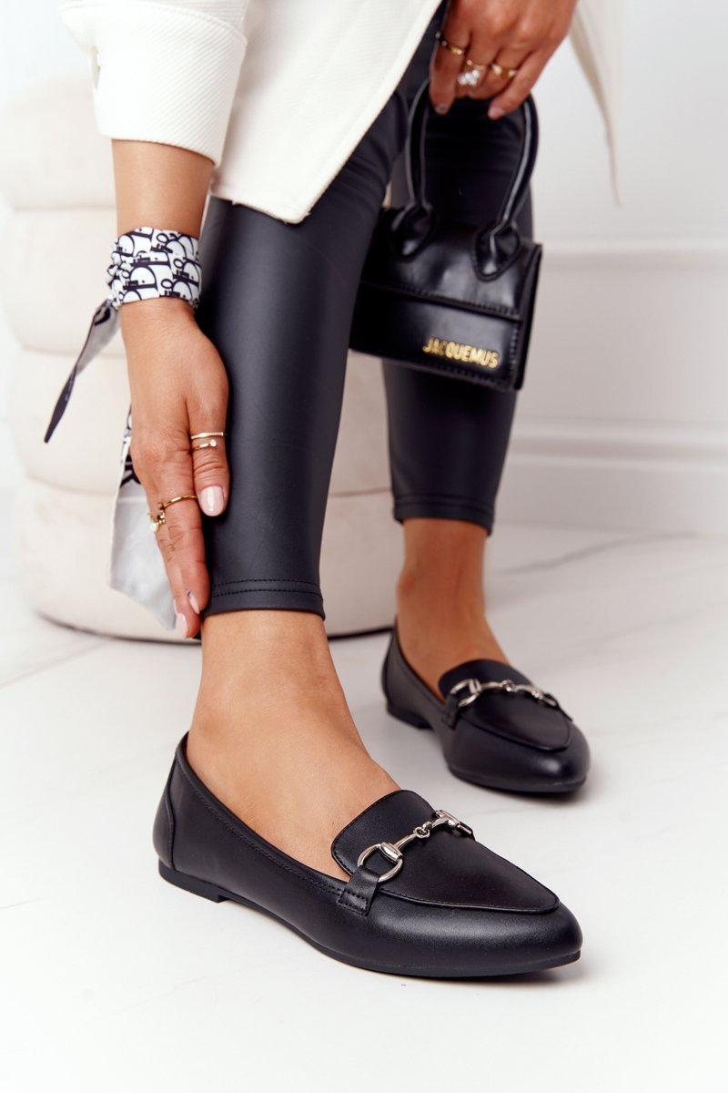 Women's Loafers Sergio Leone MK711 Black