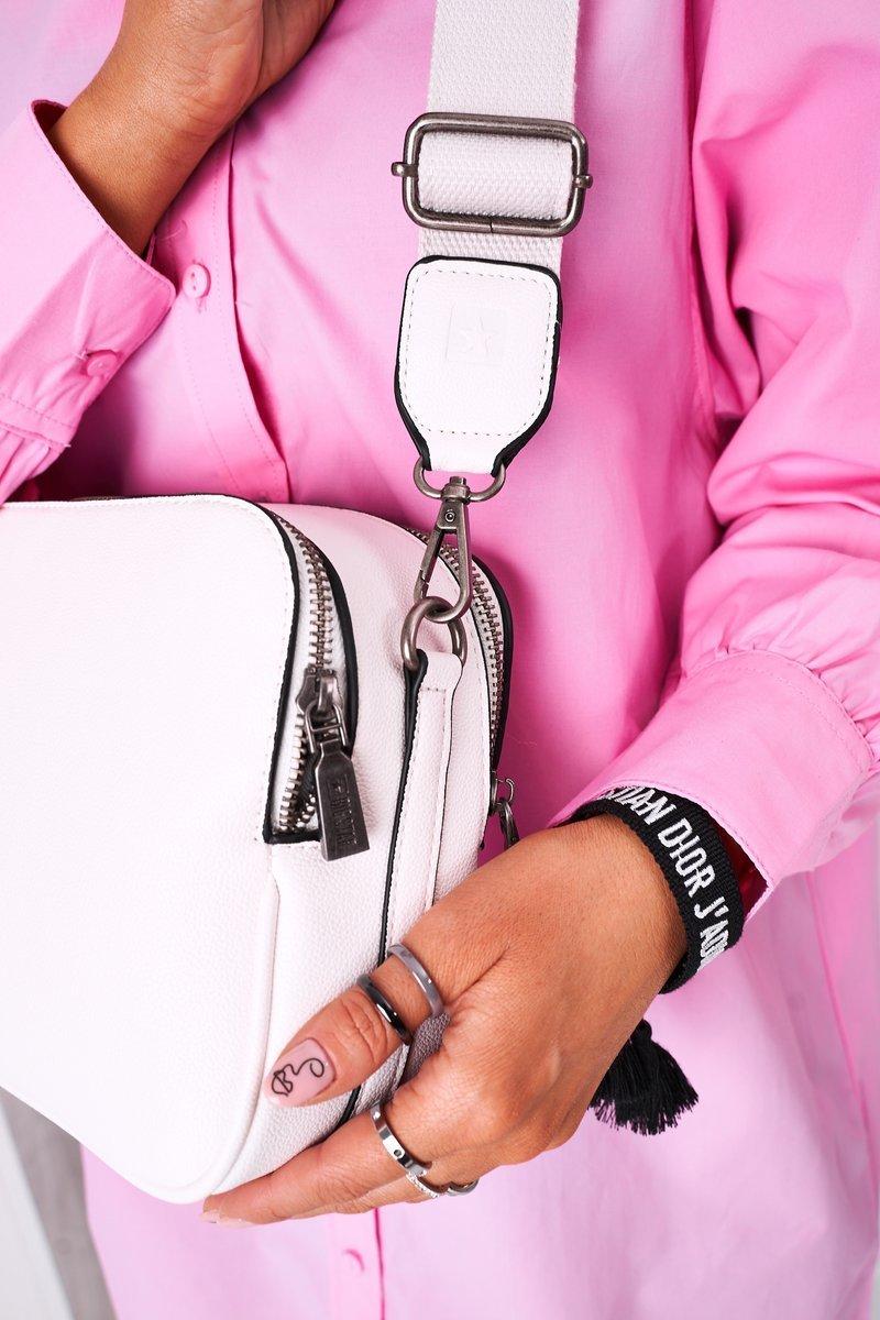 Women's Messenger Bag Big Star HH574084 White