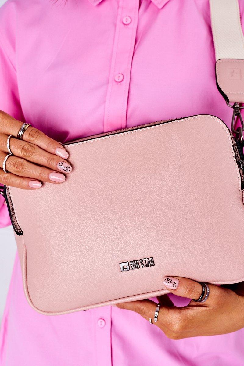 Women's Messenger Bag Big Star HH574086 Pink