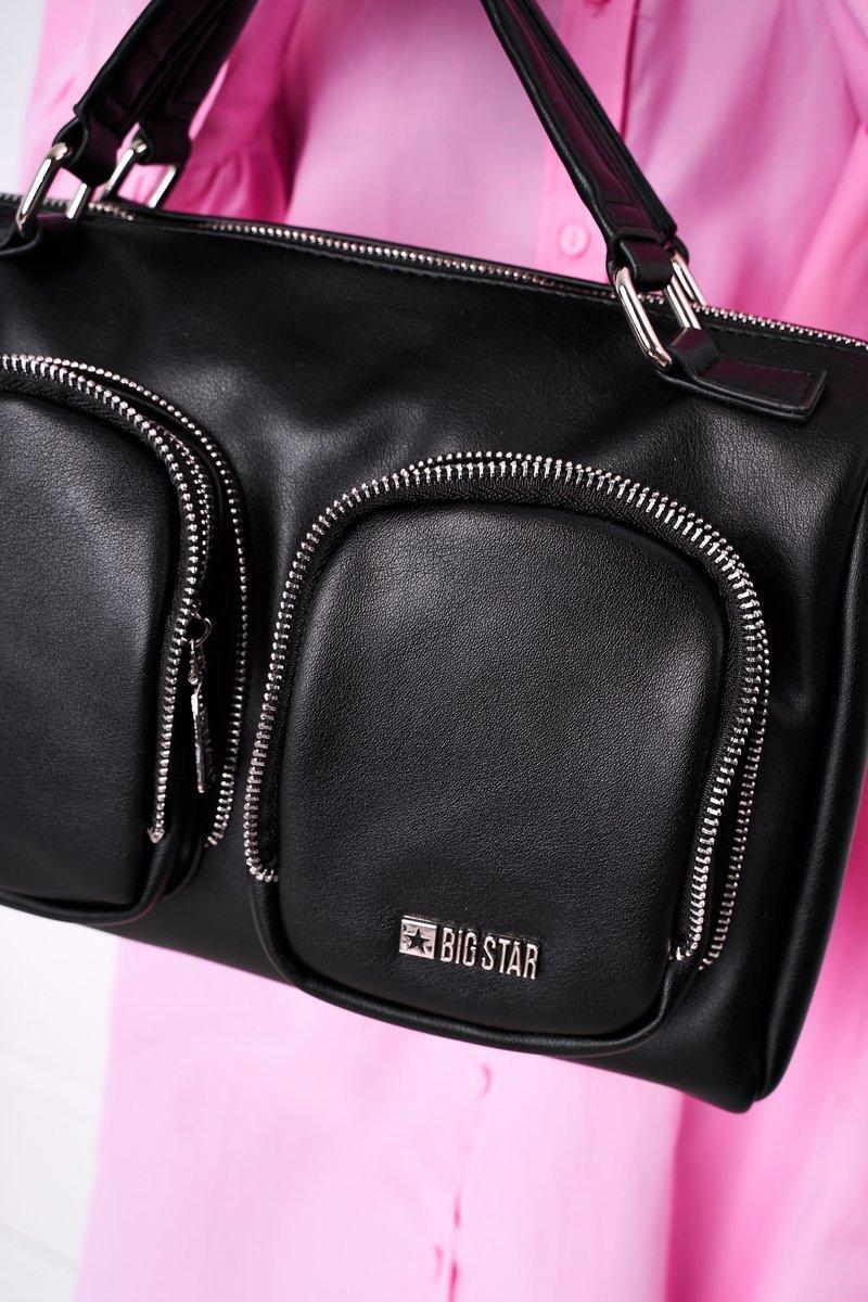 Women's Messenger Bag Big Star HH574145 Black