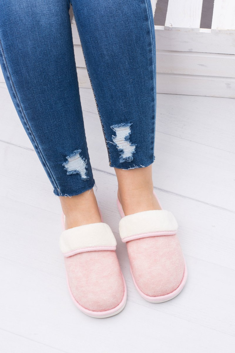 Women's Pink Home Slippers Sleepy