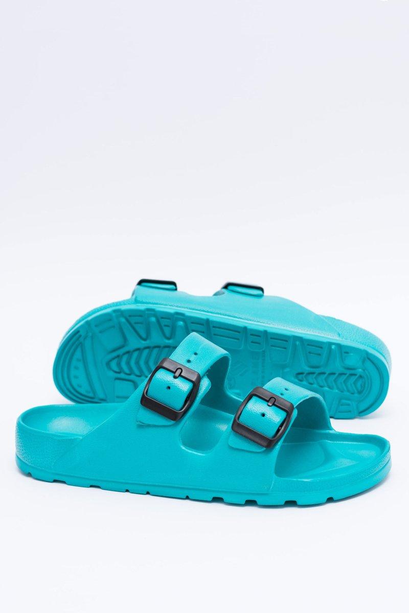 Women's Slides Light Garden EVA Turquoise