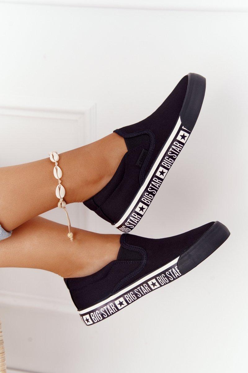 Women's Slip-on Sneakers Big Star HH274012 Black