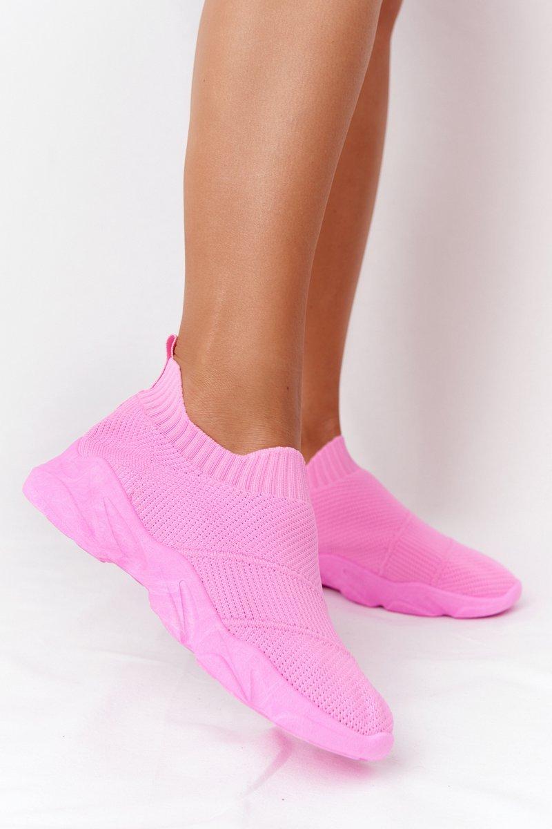 Women's Slip-on Sneakers Pink Yoga Class