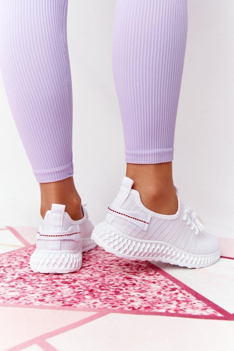 Women's Slip-on Sneakers White Do It