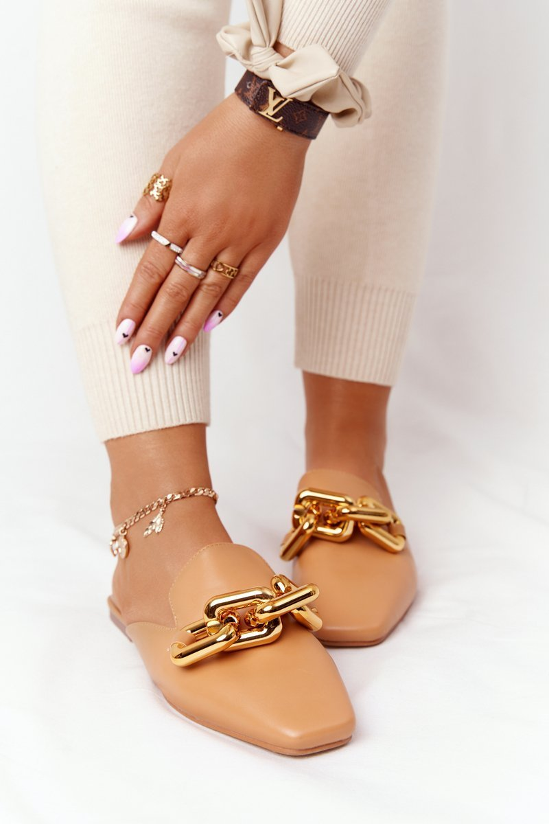 Women's Slippers With Chain Camel Call On Me