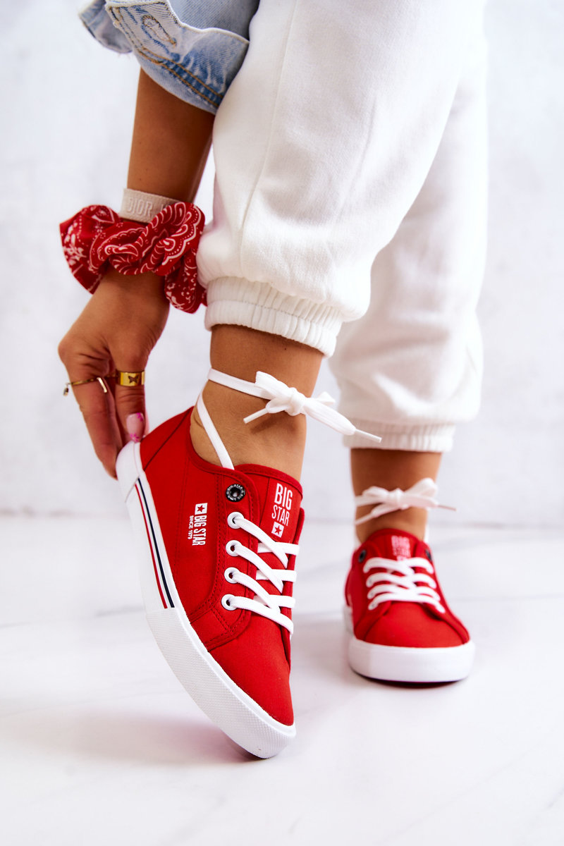 Women's Sneakers BIG STAR HH274061 Red