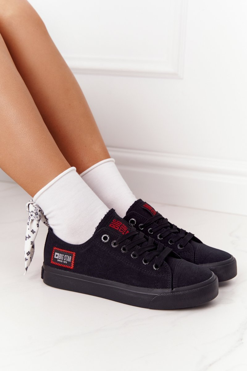 Women's Sneakers BIG STAR HH274133 Black