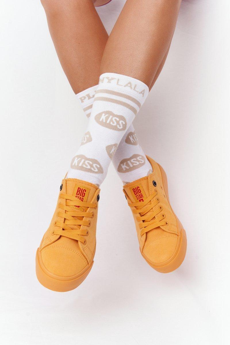 Women's Sneakers BIG STAR HH274134 Yellow