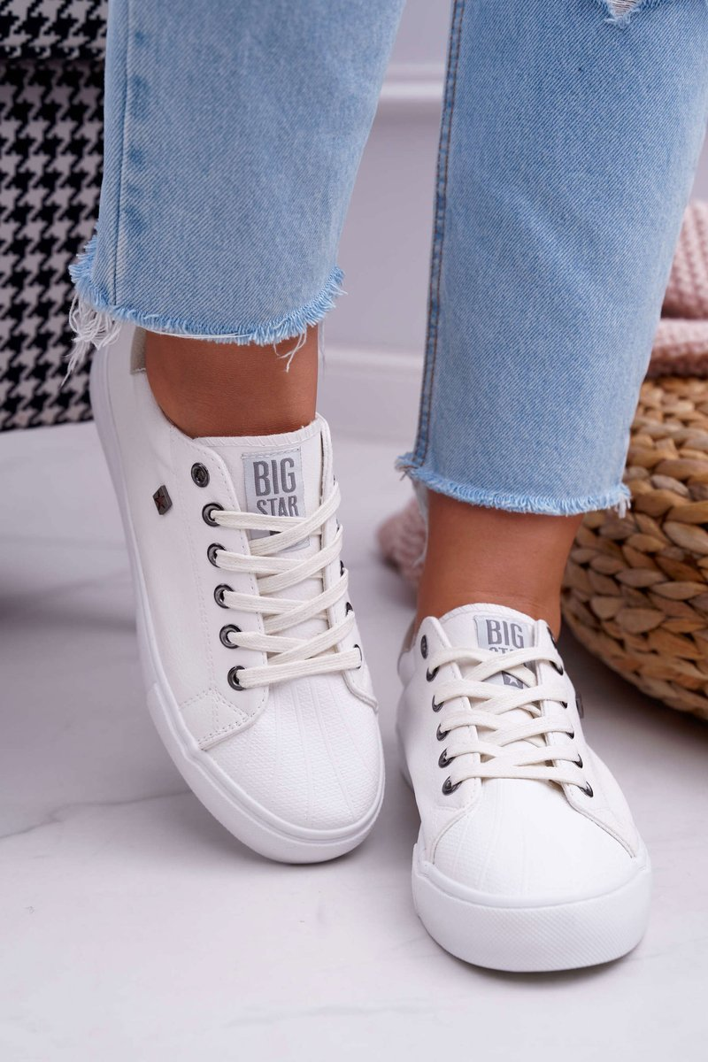 Women's Sneakers Big Star White BB274033
