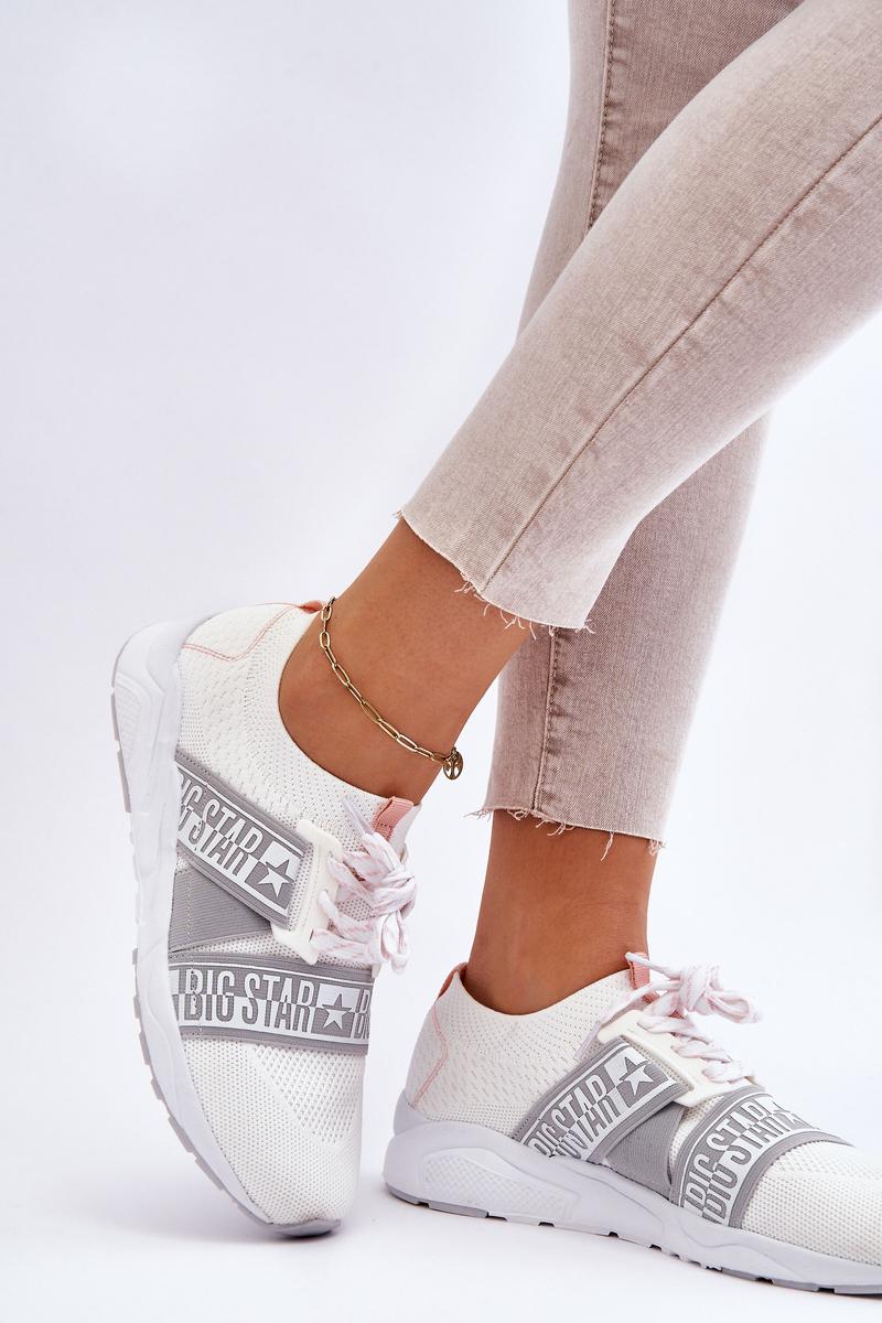 Women's Sneakers Memory Foam Big Star HH274355 White