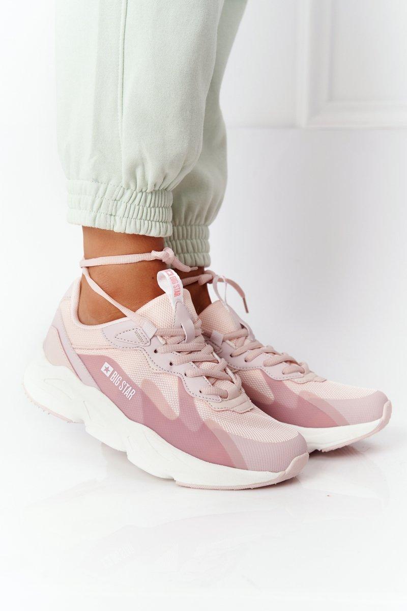 Women's Sneakers Memory Foam Big Star HH274811 Pink