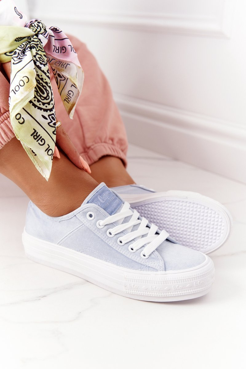 Women's Sneakers On A Platform Lee Cooper LCW-21-31-0125L Coral