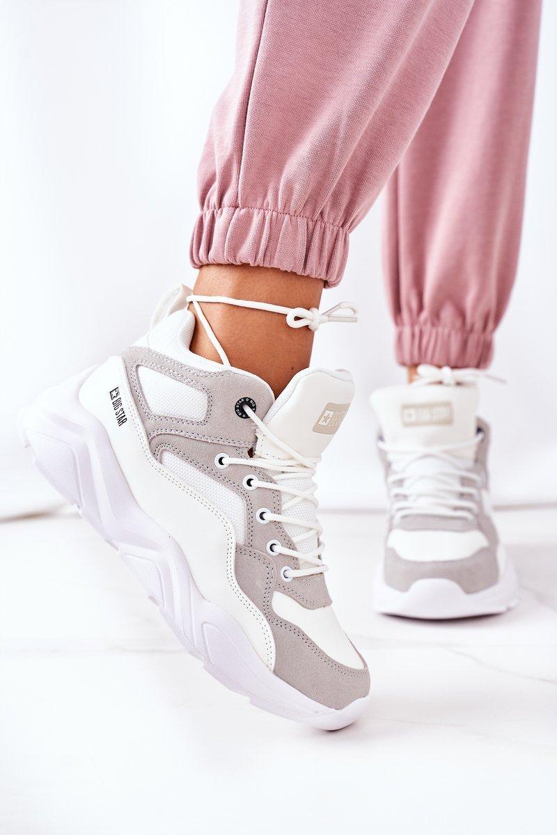 Women's Sport Shoes Big Star GG274643 White