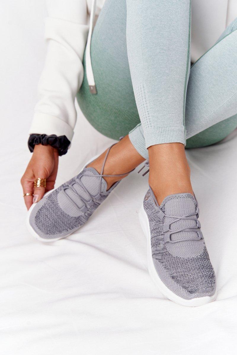 Women's Sport Shoes Grey Workout