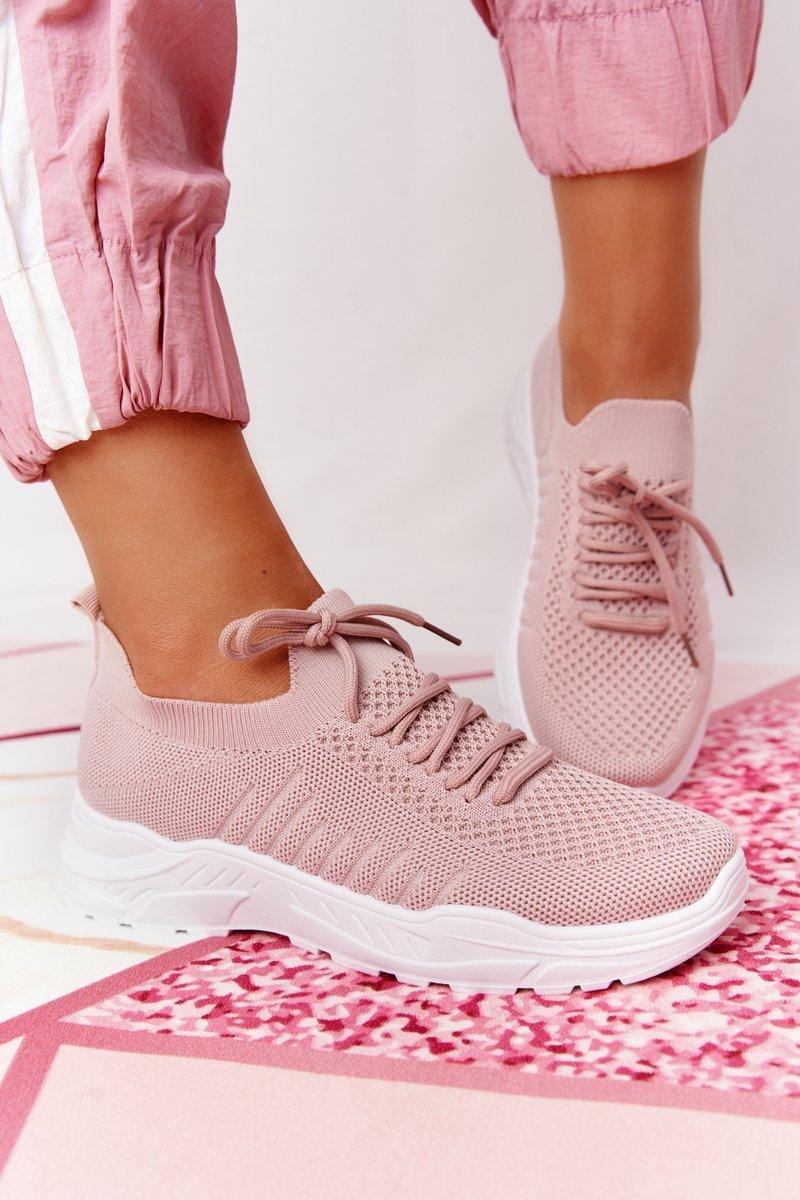 Women's Sport Shoes Sneakers Pink Ruler
