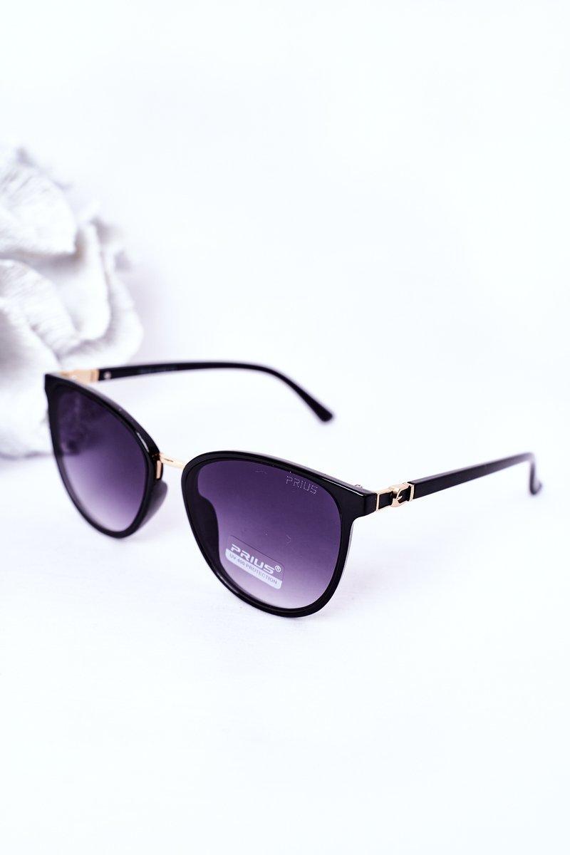 Women's Sunglasses Black With Graphite Ombre