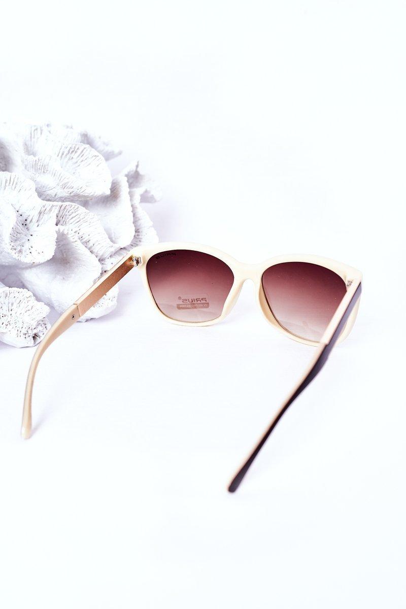 Women's Sunglasses Brown-Beige Ombre