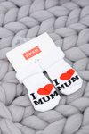 Baby Socks I love Mum Soxo
